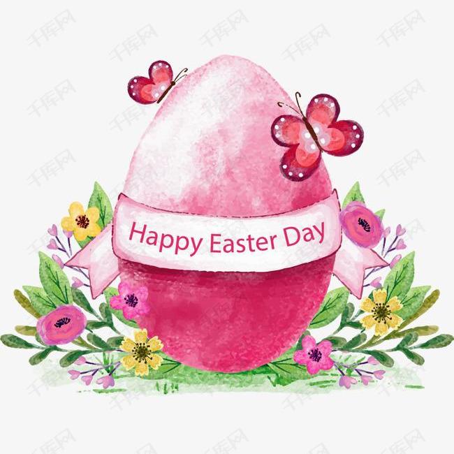 粉色手绘复活节彩蛋素材图片免费下载 高清psd 千库网 图片编号10007636