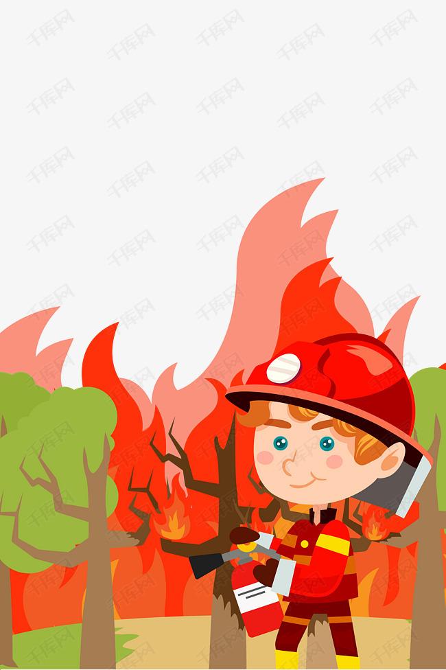 安全教育日消防安全灭火器使用素材图片免费下载 高清psd 千库网 图片编号10142696