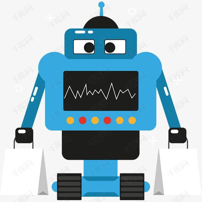 手绘扁平机器人设计素材图片免费下载 高清psd 千库网 图片编号