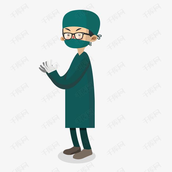 医生带口罩png下载图片