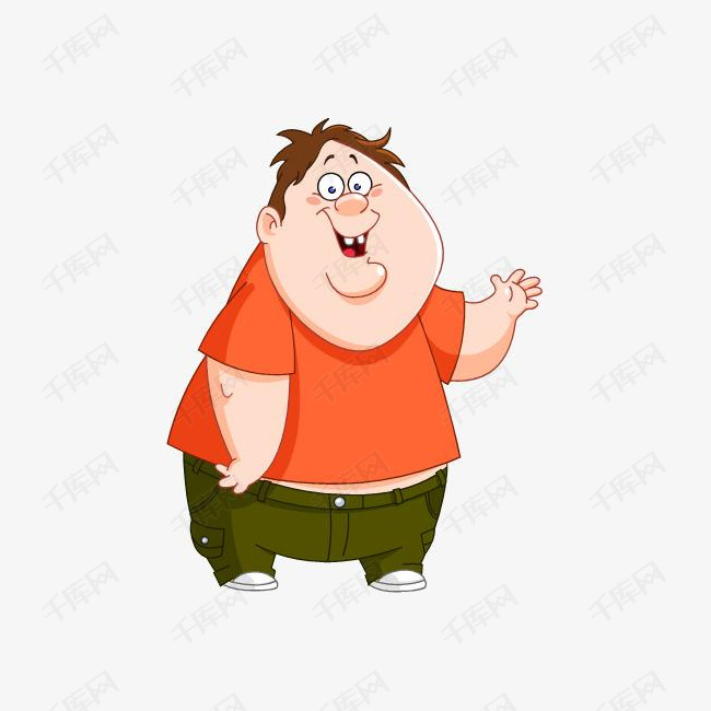 胖男孩图素材图片免费下载 高清效果元素psd 千库网 图片编号6123537