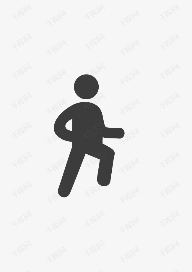 手绘跑步的人简笔画素材图片免费下载 高清png 千库网 图片编号9333479