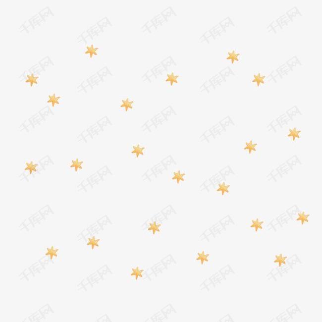 手绘满天星素材图片免费下载 高清psd 千库网 图片编号8493384