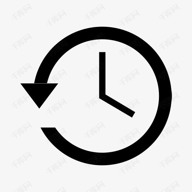 备份圈时钟历史机最近的时间表时