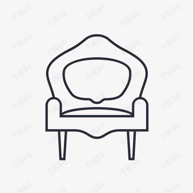扶手椅椅子家具室内沙发图标素材图片免费下载 高清png 千库网 图片编号895435