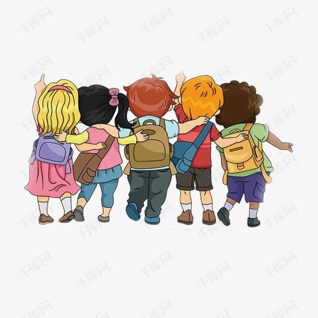 卡通小孩青少年法制教育宣传海报背景素材图片免费下载 高清psd 千库