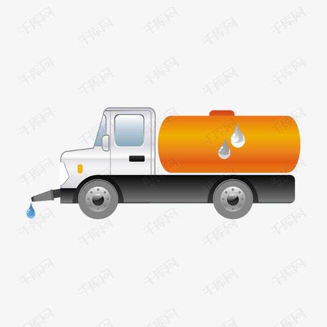 卡通版手绘的洒水车素材图片免费下载 高清png 千库网 图片编号10047332