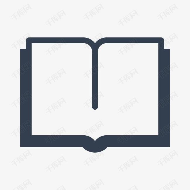 矢量书本图标