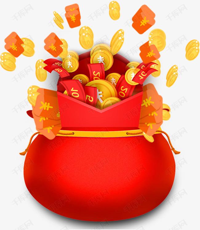 新年装饰红包福袋
