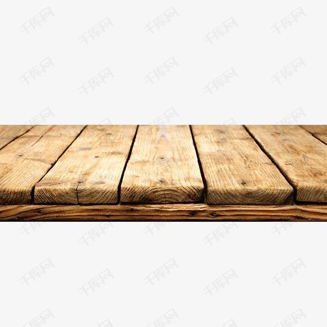 手绘黄色木板的素材免抠手绘木纹纹路简约小清新黄色水彩木板图片