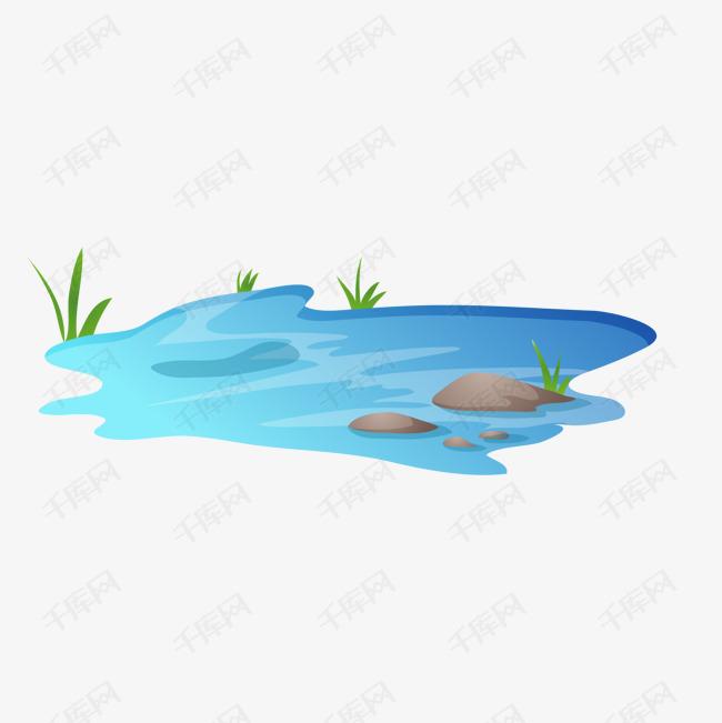 矢量手绘海水素材图片免费下载 高清卡通手绘psd 千库网 图片编号4156437