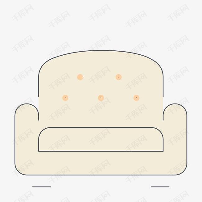 沙发简笔画素材图片免费下载 高清png 千库网 图片编号9244508