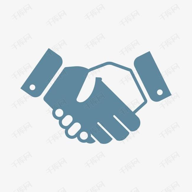 协议业务合同交易问候握手伙伴关