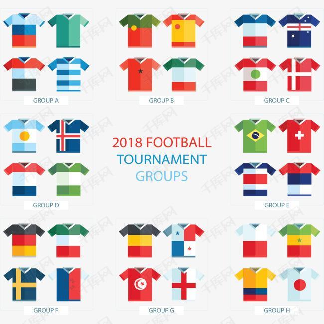 世界杯比赛国家队队服