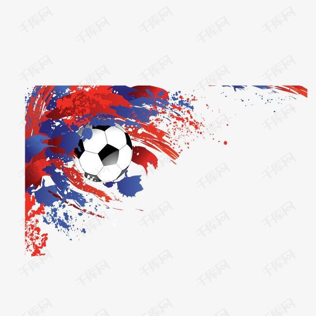 俄罗斯世界杯足球海报