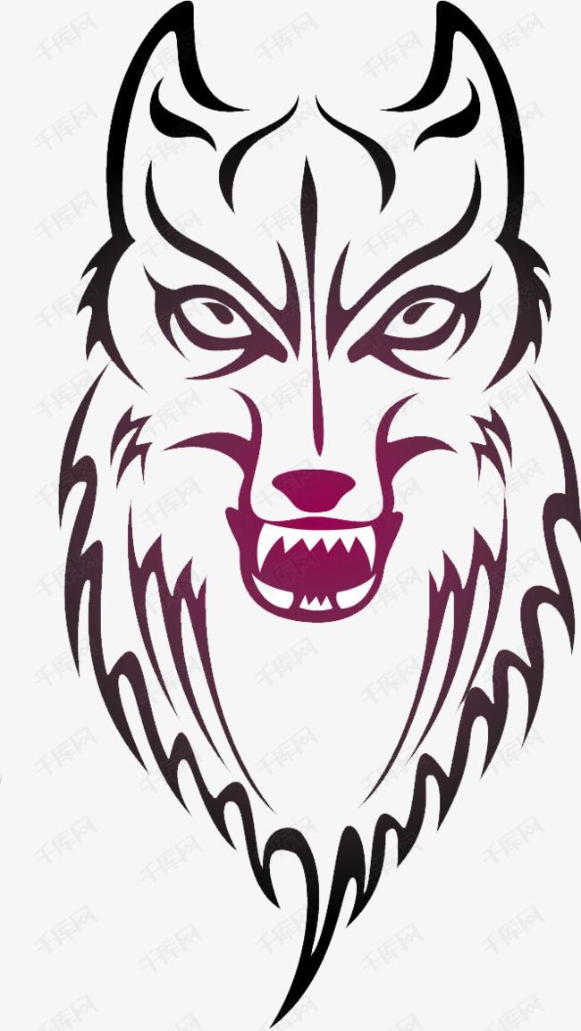 狼系图腾图片