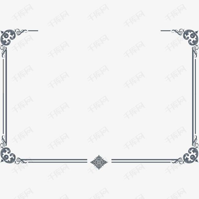 手绘灰色方块方框素材图片免费下载 高清png 千库网 图片编号8935795