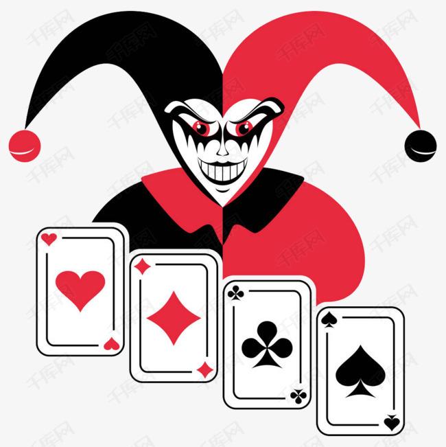 扑克小丑素材图片免费下载 高清png 千库网 图片编号9113499图片