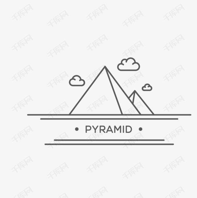 手绘金字塔简笔画图标的素材免抠云朵简笔画金字塔图标手绘金字塔线描金字塔金字塔简笔画旅游景点图标pyramid