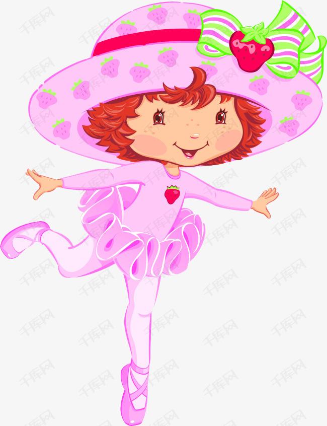 粉色可爱卡通形象图片