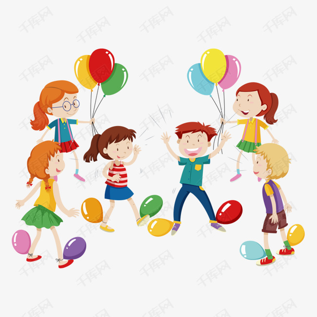 儿童玩耍踩气球游戏素材图片免费下载_高清p