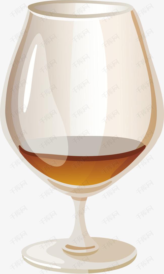 卡通酒酒杯