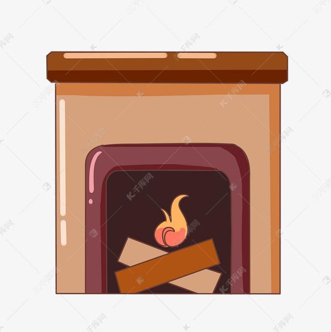 黄色的炉子手绘插画素材图片免费下载 千库网