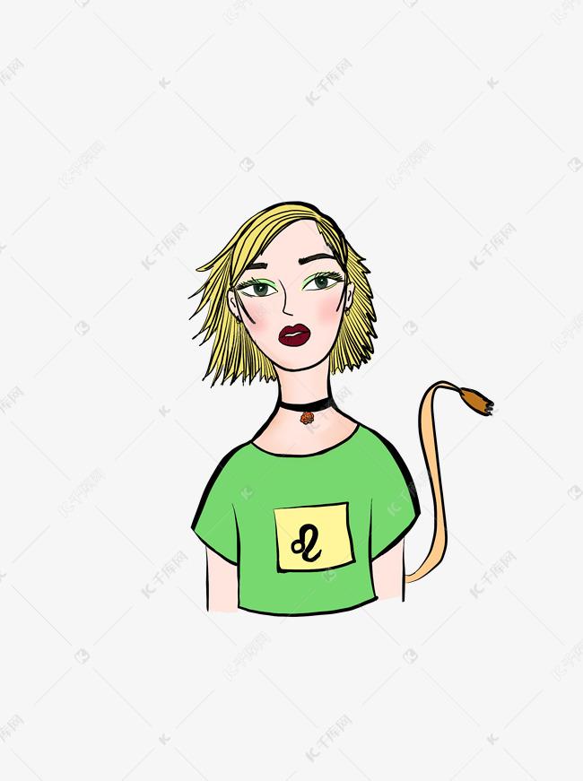 十二星座狮子座元素讨厌原创v元素女孩如果手绘白羊座了图片