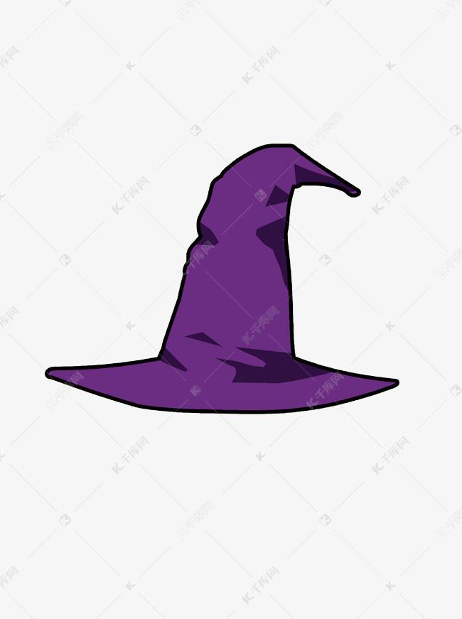 万圣节主题同之卡通女巫帽子装饰
