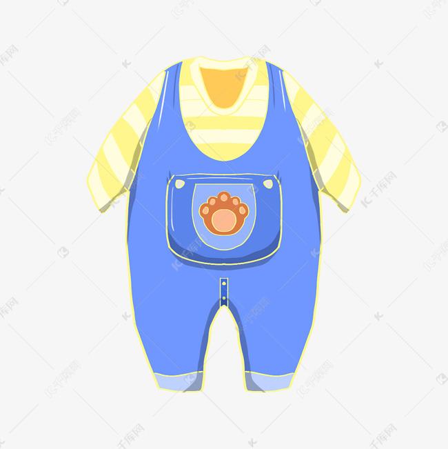 旅行相关小宝宝背带裤素材图片免费下载 千库网
