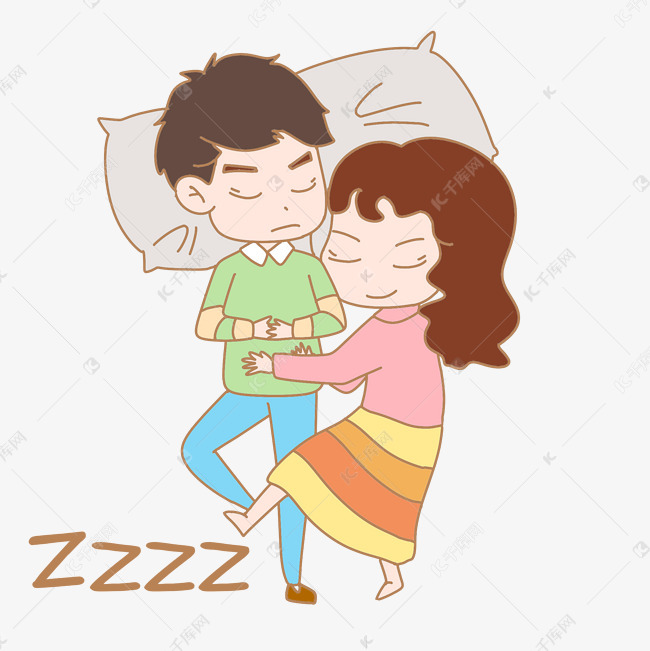 表情七夕表情人物睡觉图什么卡通包没说你图片
