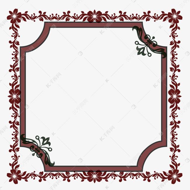 古风边框唯美图案元素素材图片免费下载 千库网