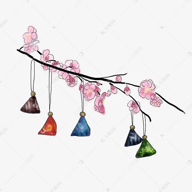 端午节手绘传统香包素材图片免费下载 高清psd 千库网 图片编号10504006