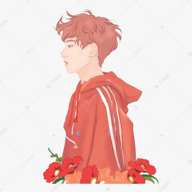 卡通画发型男孩2018插图最新图片新娘短发图片