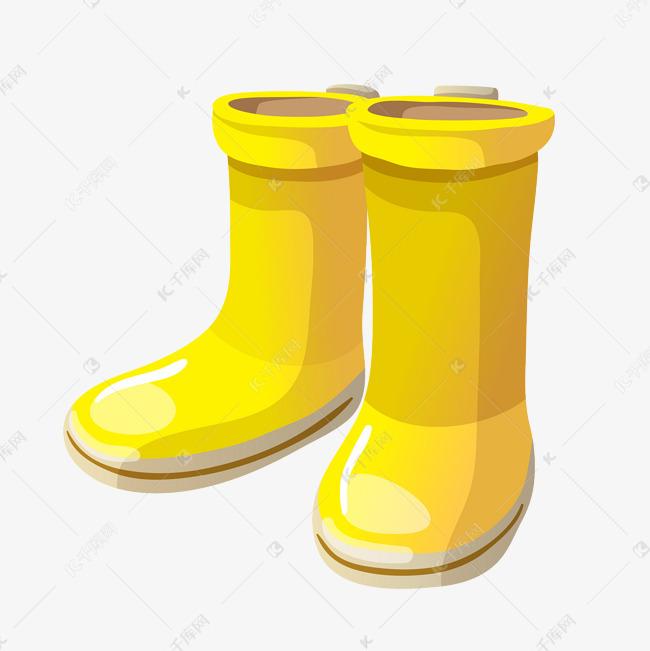 手绘卡通雨后雨靴素材图片免费下载 高清psd 千库网 图片编号10911091