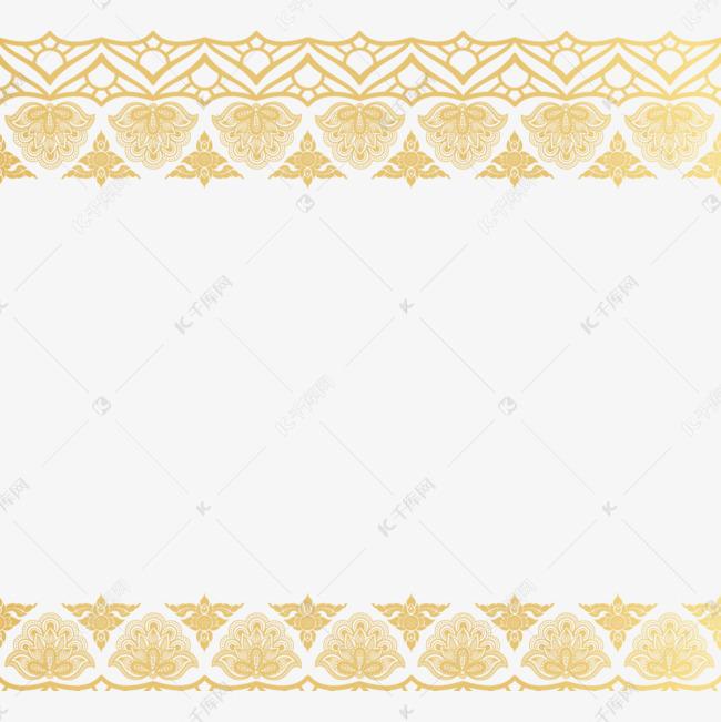 手绘泰国图案边框的素材免抠中国古典花纹边框素材中国元素边框蓝色古风边框粒子感示图装饰图案精致的卡通摘要时尚模式泰国