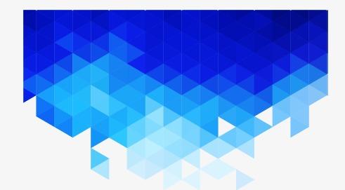 蓝色科技几何渐变块