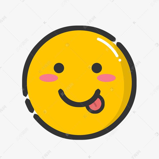 可爱卡通笑脸表情素材图片免费下载 千库网