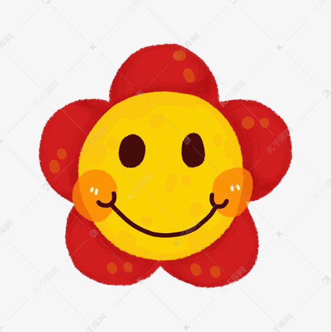 手绘可爱笑脸表情素材图片免费下载 千库网