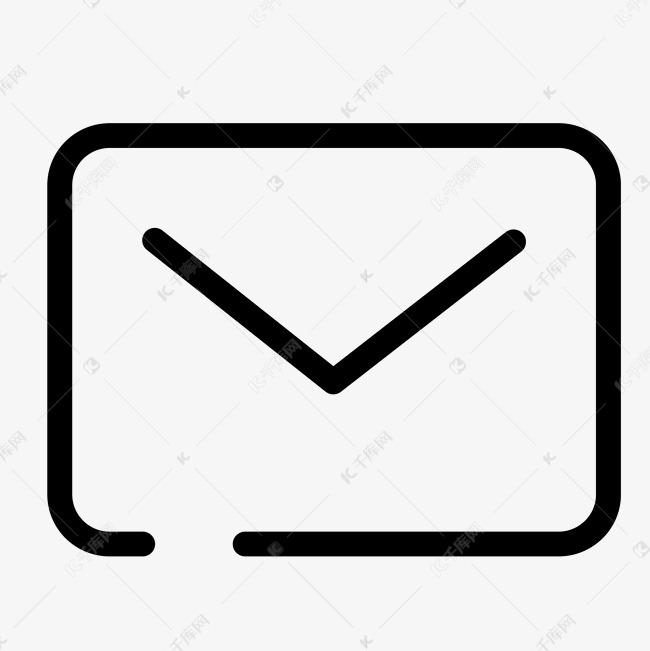 电子的信封文件图标