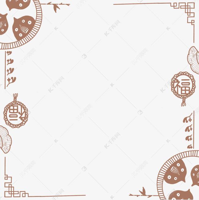 中国风边框古风元素素材图片免费下载 千库网
