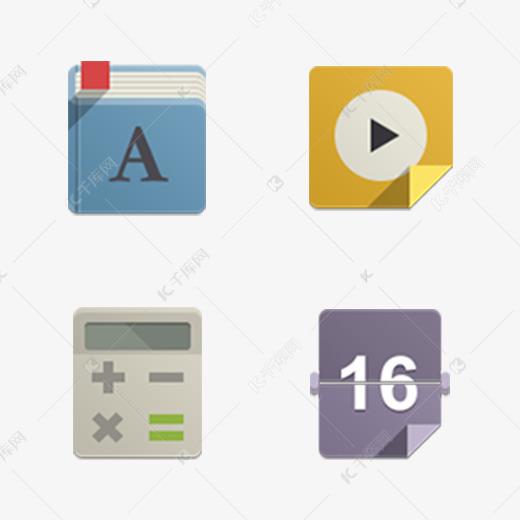 图标创意字体UI彩色居住设计光线室内设计空间分析图片
