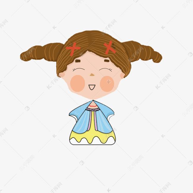 六一儿童节表情可爱乖乖qq猪表情卡通包图片