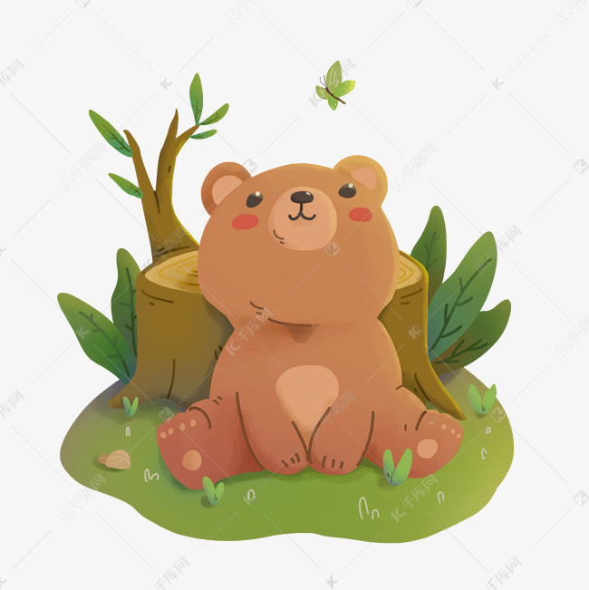 迷你世界可爱的小熊