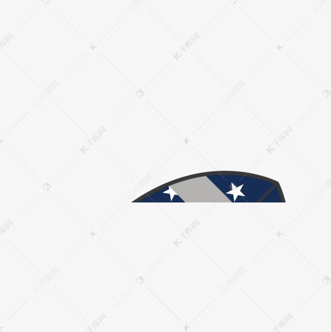 美式足球美国国旗创意运动矢量插画橄榄球球