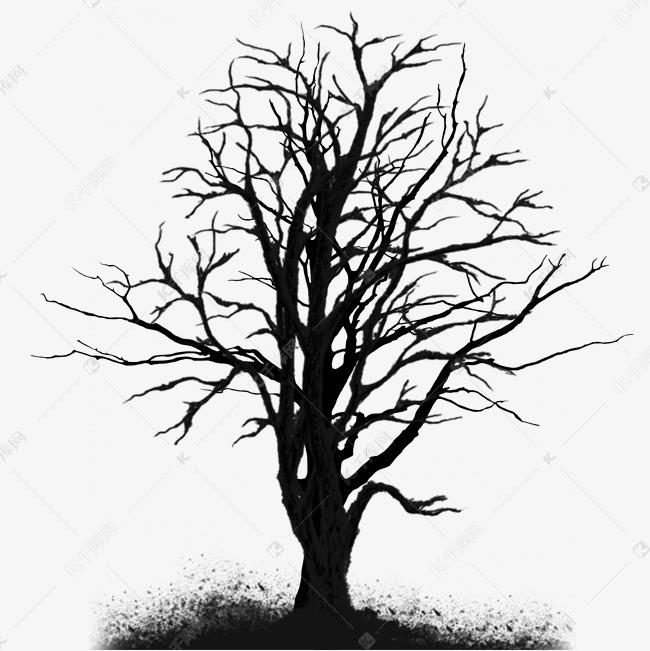 枯树枝无叶树枝素材图片免费下载 千库网