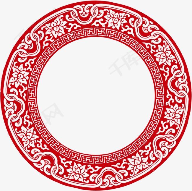 中国风祥云圆环