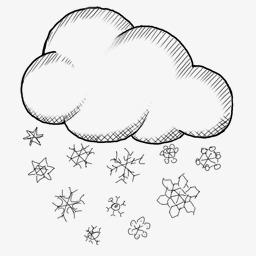 雪花满天飘
