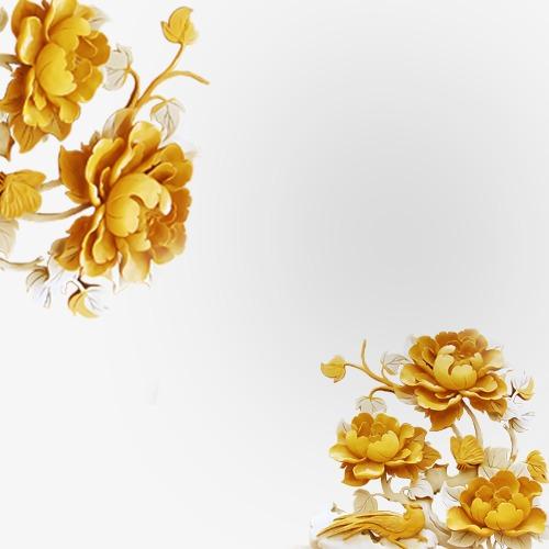 3d效果花朵