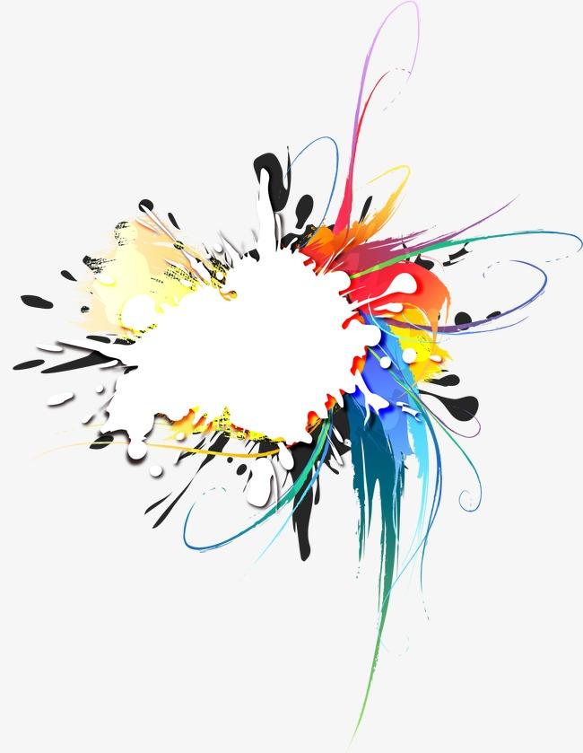 抽象炫彩主题